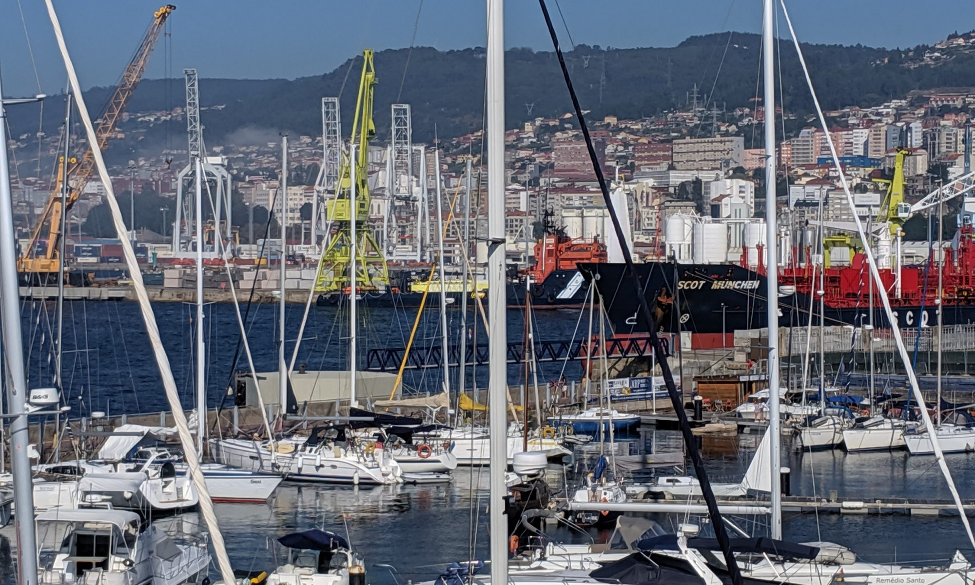 Sissi im Hafen